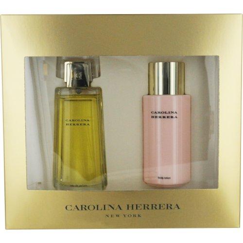 Carolina Herrera by Carolina Herrera for Women Gift Set 3.4 Ounce EDP Spray, 6.75 Ounce Body Lotion: Carolina Herrera