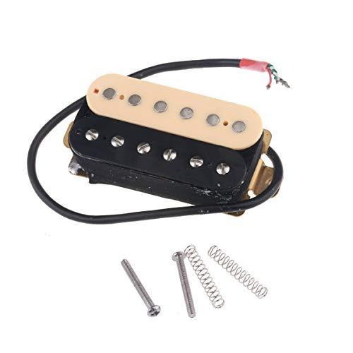 Musiclily 50mm Hals Humbucker Tonabnehmer Pickup für Les Paul Style Gitarre,Zebra