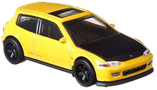 Hot Wheels Fast & Furious Honda Civic Eg Vehicle 1:64 Scale Diecast, Toys for Kids Age 3 and Up, Toys for Boys
