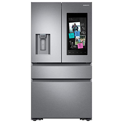 Samsung Stainless Steel Counter-Depth 4-Door Refrigerator With Family Hub 2.0