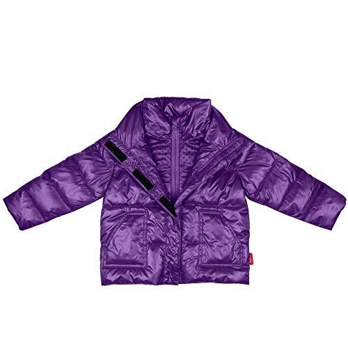 Car Seat Safety Road Coat Vegan Jacket - Purple