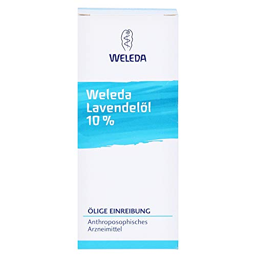 WELEDA Lavendelöl 10% ölige Einreibung, 50 ml Öl