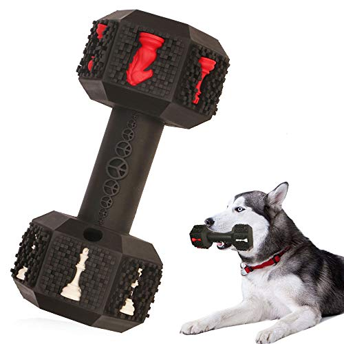 Hswaye Dog Chew Toys for Aggressive Chewers,Food Grade Non-Toxic Dental Pet Toy,Tough Durable Indestructible Dog Toys for Medium Large Dogs.Black.