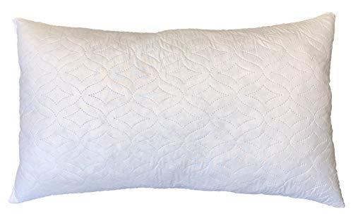 Almohada Confort 45 x 75 cm con memoria de forma, funda de poliéster – Diseño francés