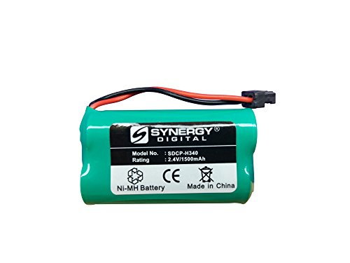 Rayovac RAY183 Cordless Phone Battery Ni-MH, 2.4 Volt, 1500 mAh - Ultra Hi-Capacity - Replacement for Panasonic HHR-P506 Rechargeable Battery