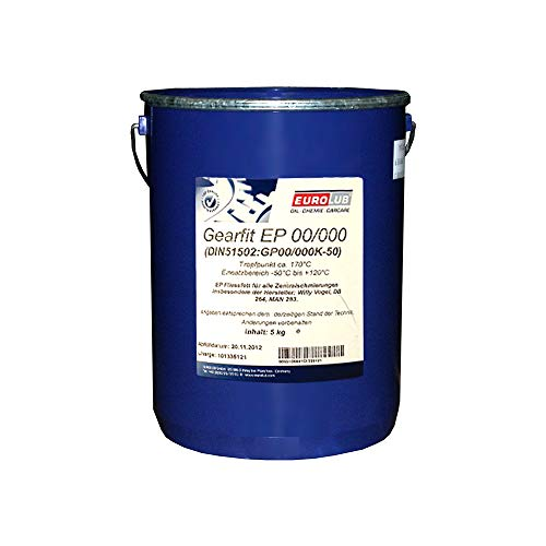 EUROLUB Gearfit EP 00-000 Schmierfett, 5 kg