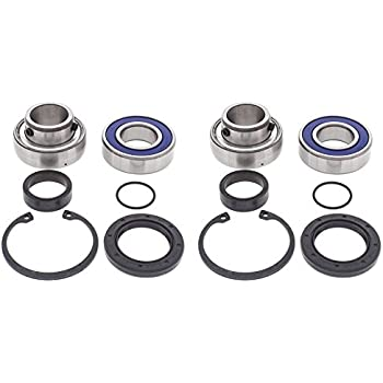 Lower Drive Shaft /& Upper Jack Shaft Bearing /& Seal Kit for Polaris INDY TRAIL D