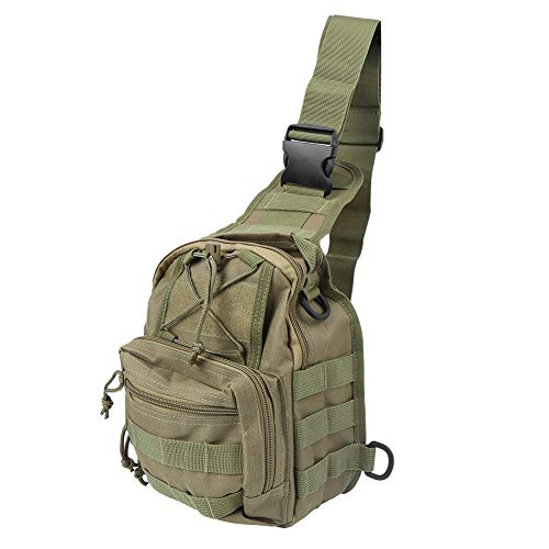 VGEBY Sling Bag Crossbody Shoulder Chest Backpack Outdoor Male Chest Bag for Travel Cycling