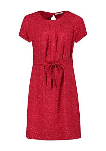 Zabaione Kleid Estelle mit Print, Größe:L, Farbe:Rot
