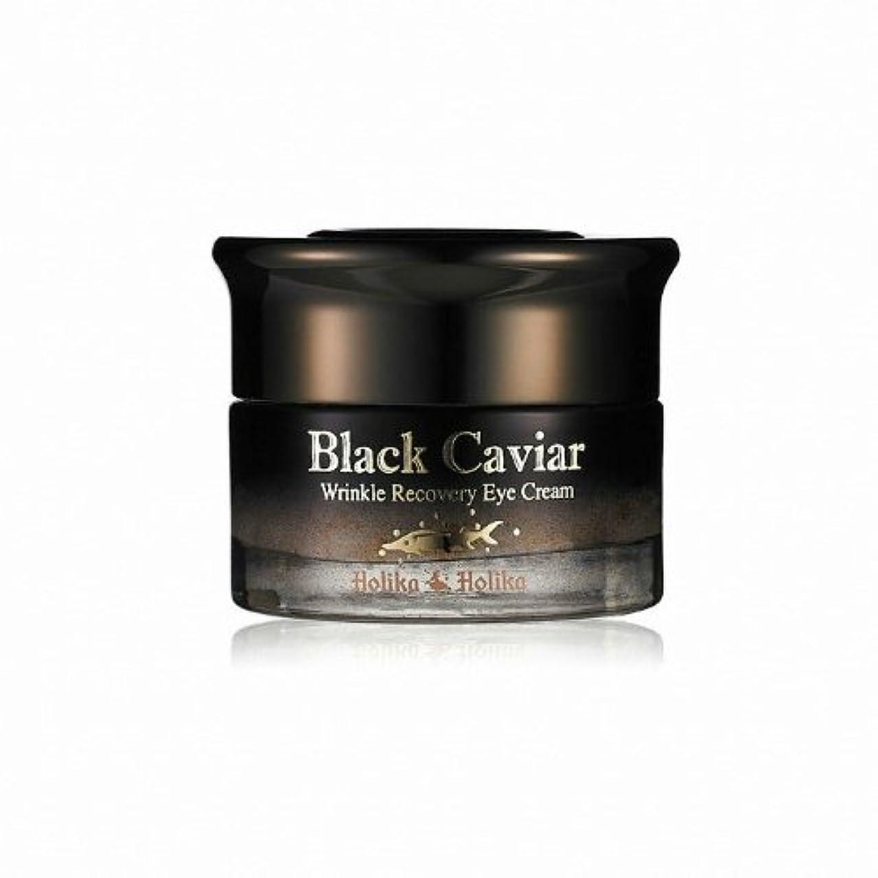 おじいちゃん毎月名前Holika Holika Black Caviar Anti Wrinkle Recovery Eye Cream [Korean Import]
