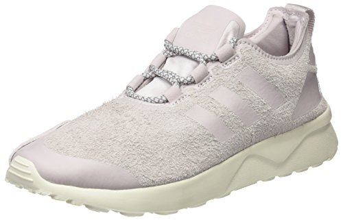 adidas Damen ZX Flux ADV Verve Sneakers, Violett (Ice Purple/Ice Purple/Off White), 38 EU