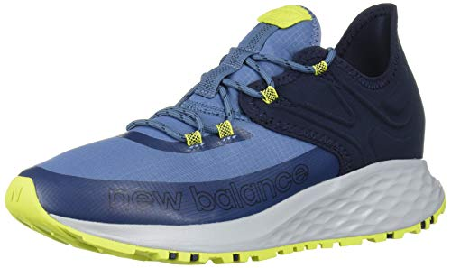 New Balance Women's Fresh Foam Roav Trail V1 Sneaker, Chambray/Eclipse, 5.5 M US