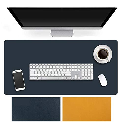 YiYunTE Alfombrilla de Ratón Escritorio Gaming Grande XXL 900x450mm Alfombrilla para Ratón PC Doble Cara Mouse Pad Impermeable Cojín de Ratón Antideslizante Mousepad para Videojuegos Portátil Oficina