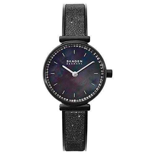 Skagen Damen Analog Quarz Uhr mit Edelstahl Armband SKW2792