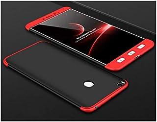 جراب شاومي مي ماكس 2 فاشون نحيف جدا جي كيه 360 - احمر واسود