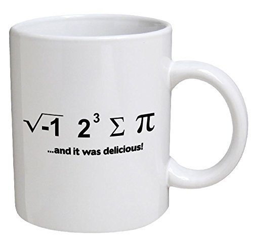 Funny Mug - I Ate Some Pie… And It Was Delicious. Math Geek - 11 OZ Coffee Mugs - Funny Inspirational and sarcasm