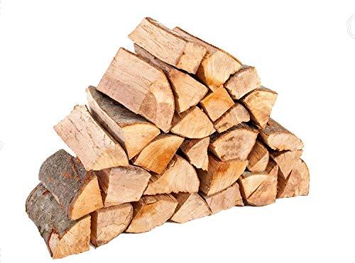4 Pz Sacco 15 Kg Legna Da Ardere 100% In Tronchetti Da 25 Cm Per Stufe Camini Fuoco Riscaldamento - 60 Kg