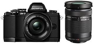 Olympus Mark II Mirrorless Camera Olympus OM-D E-M10 with 14-42mm Lens, Black (E-M10)