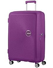 American Tourister Soundbox - Spinner Large Expandable Maleta, 77 cm, 110 Liters, Morado (Purple Orchid)