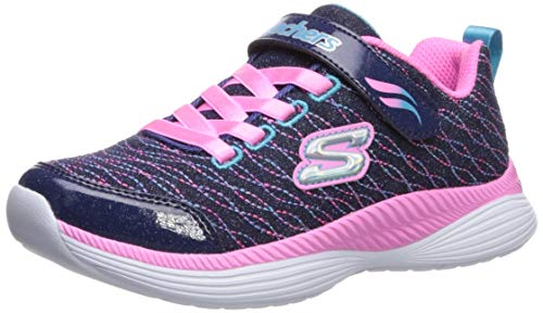 Skechers Move 'N Groove Sparkle Spinner, Zapatillas para Niñas
