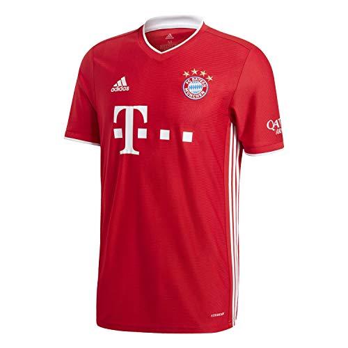 adidas Herren FC Bayern München Home Trikot 2020/21 FCB True Red XXXXL