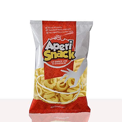 Aperisnack® - AP03.027.01 - Onion Chips Busta da 200gr. Snack Salati e Stuzzichini Ideali per l'Aperitivo e Le tue Feste