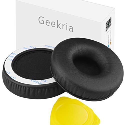 Geekria - Almohadillas de repuesto para auriculares Sony MDR-XB450, XB450AP, XB550AP, XB650BT