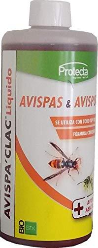 Biosix Avispa'Clac Líquido Atrayente Natural e Avispas Asiáticas, Velutinas y Avispones - 500 ml