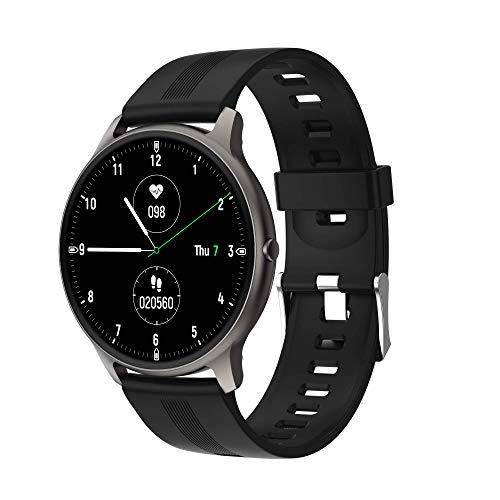 Smart Watch BW11 HD Screen Fitness Tracker, IP68 à prova d'água Gravador de frequência cardíaca, contador de passos