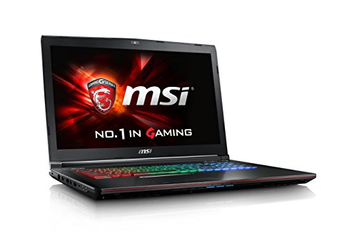MSI Gaming GE72 6QD(Apache Pro)-007ES - Ordenador portátil (i7-6700HQ, DVD±RW, Touchpad, Windows 10 Home, Ión de litio, 64-bit)