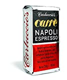 Carluccios | Caffe Napoli Espresso | Roasted in Italy | Ground Espresso Coffee from Arabica Beans with a Kick of Robusta | 250g