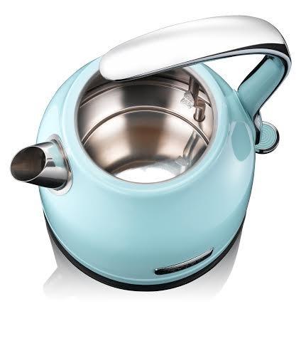 KHAPP-Retro-Premium-Wasserkocher-aus-Edelstahl-Kabellos-2025-Watt-12-Liter-Teekessel