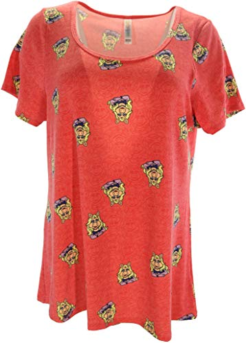 Disney Classic T (Large) (Miss Piggy on Red)