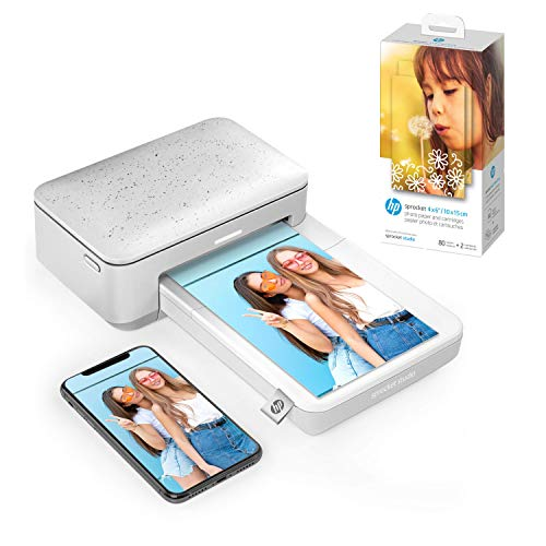 "HP Sprocket Studio 4x6"" Instant Photo Printer – Print..."