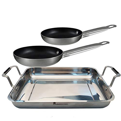 Masterpro PK1473 Set Cooking, Acero Inoxidable, Multicolor