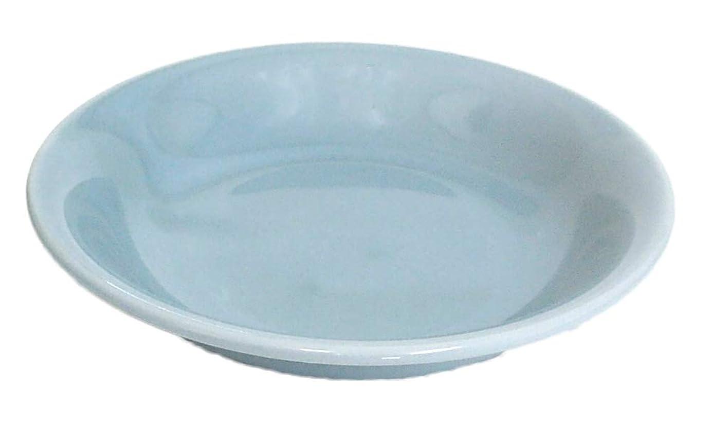 補体快適たるみ4.0取皿 小皿 青磁 青彩 中華食器 美濃焼 業務用食器