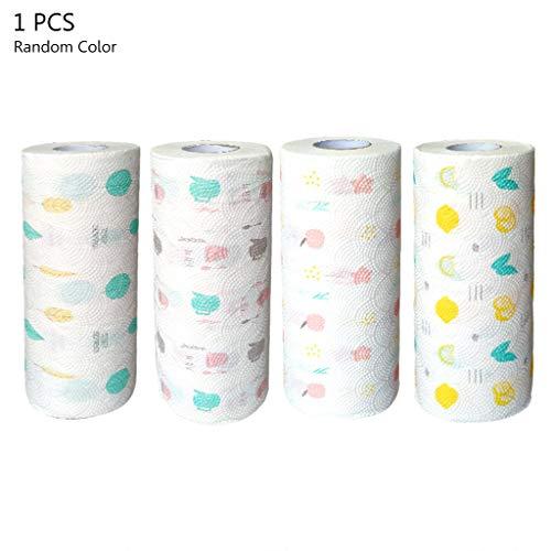 RROVE Drucken von Toilettenpapier Glatte Holzküche Absorbierende Gewebe Home Bath Roll Paper