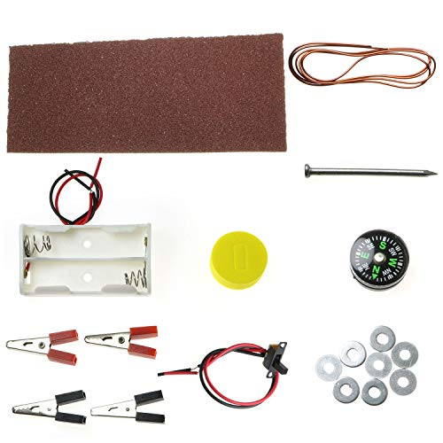 ToToT 1 Set Fun Physics Experiment Homemade Electromagnet DIY Kit for Student's Science Project