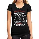 Mujer Camiseta Gráfico tee Shirt Dog Rottweiler Negro Profundo