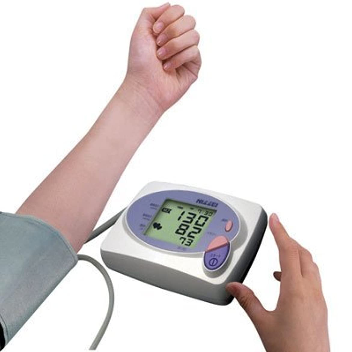 風刺信号分布NISSEI 上腕式デジタル血圧計 DS-1902