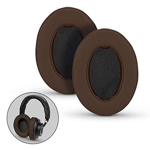 Brainwavz, Ersatz-Ohrpolster aus Memoryschaum, geeignet für viele Kopfhörer: AKG, Hifiman, ATH, Philips, Fostex, Grado, Sony Ear Pad L braun