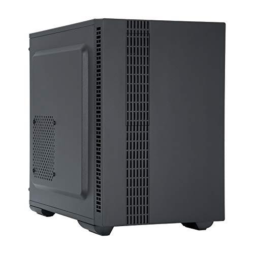 Chieftec UK-02B-OP Cubo Negro - Caja de Ordenador (Cubo, PC, SPCC, Negro, ATX,Micro ATX,Mini-ITX, 11 cm)