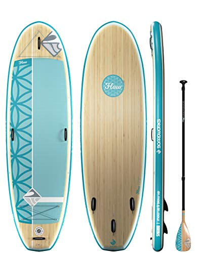 """Product Image 2: Boardworks SHUBU Flow All-Water Yoga Inflatable Stand-Up Paddle Board (iSUP) 