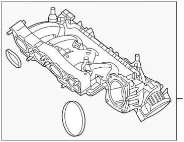 Genuine Mercedes-Benz Intake Manifold Very Max 78% OFF popular 270-090-07-37