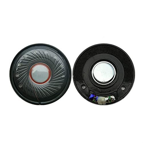 Wnuanjun 2 stücke Headset Fahrer 40mm Kopfhörer Lautsprechereinheit 118DB Lautsprecher Reparaturteile 32Ohm Full Range Lautsprecher Weißer Magnetabstand