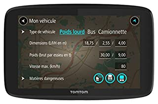 TomTom GPS Poids Lourds GO Professional 620 - 6 pouces, Cartographie Europe 49, Trafic via Smartphone (B0711KBGW1) | Amazon price tracker / tracking, Amazon price history charts, Amazon price watches, Amazon price drop alerts