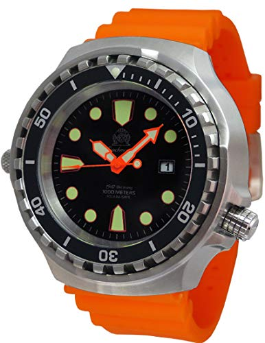 Tauchmeister T0300OR Quartz duikhorloge 46mm