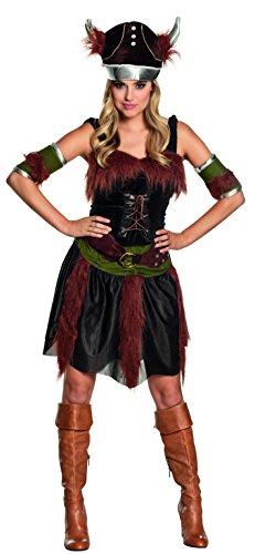 Boland - Disfraz de vikingo para mujer, talla 44 (87742)