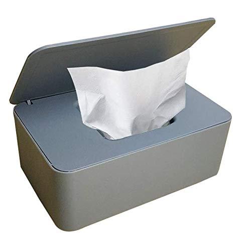 Caja para toallitas húmedas, caja de papel higiénico, caja para toallitas húmedas, color blanco,...