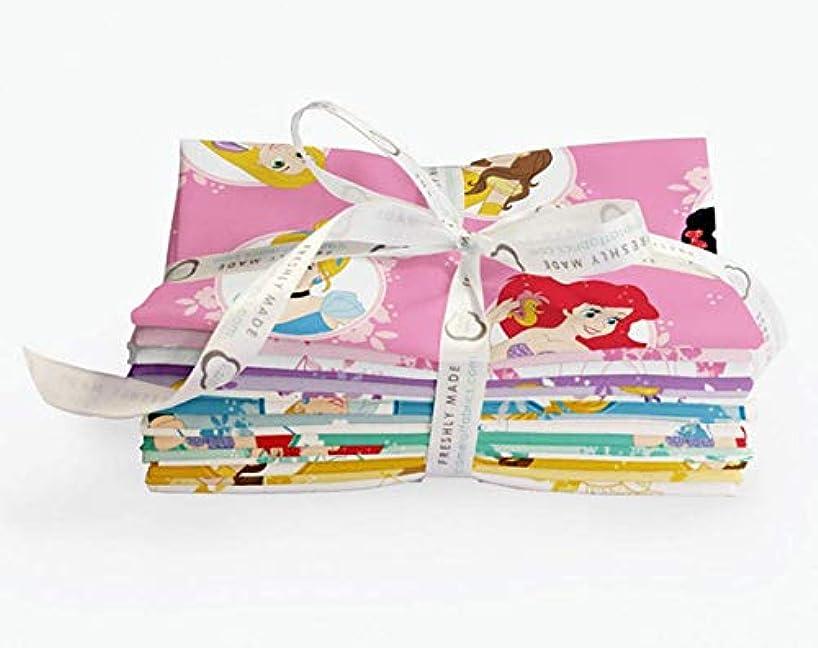 Disney Forever Princess 22 Fat Quarter Bundle by Camelot Fabrics